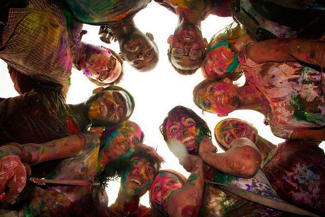 Celebration and fun on Holi