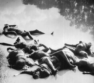 Massacre of British Indian soldiers