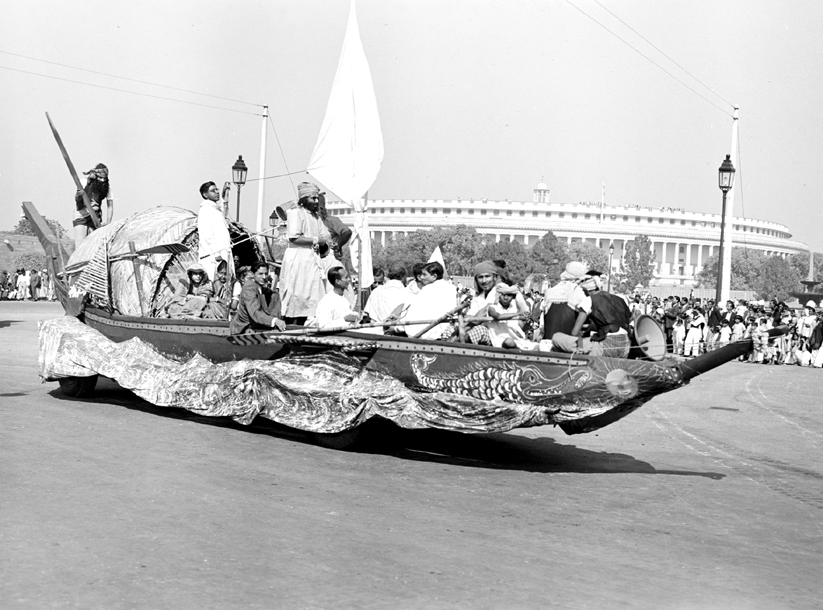 Indian Republic Day 1952