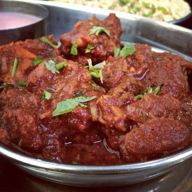 Kolhapuri mutton curry