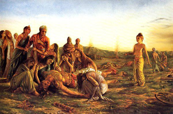 Mahabharata after war