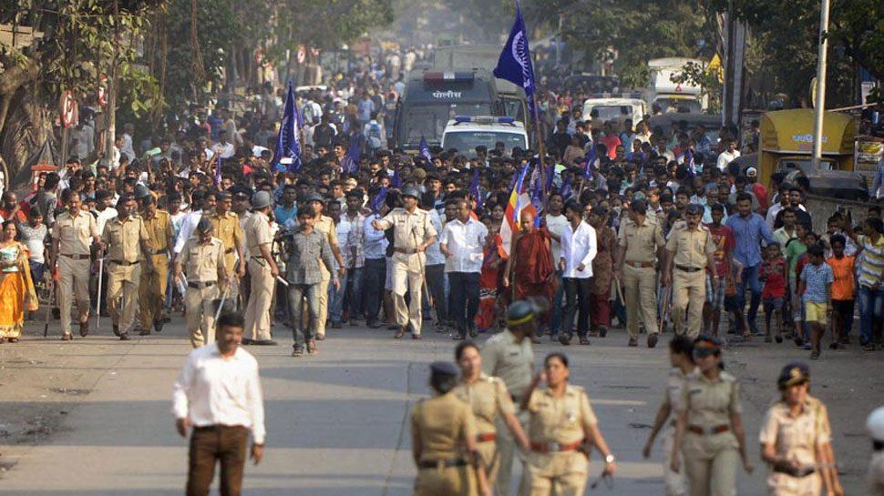 Protest Bhima Koregaon Battle