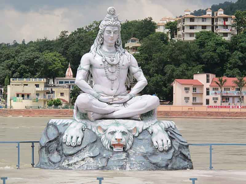 Statue depicting Shiva Natraj form