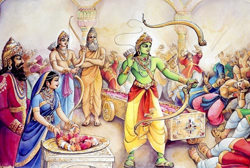 Mahabharata is a continuation from Ramayana