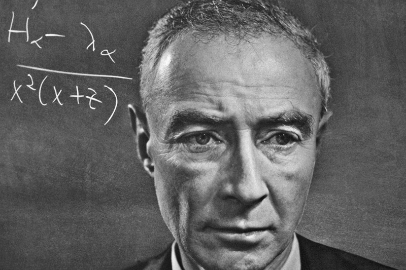 Oppenheimer great physicist mentions Hindu Epic