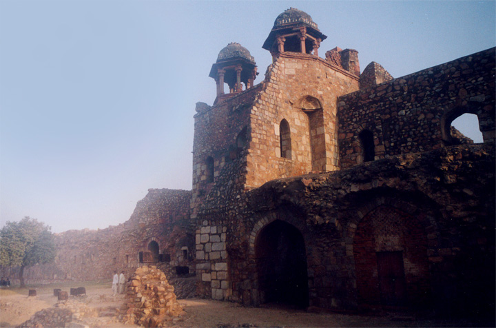 Purana Quila could be the old Indraprastha