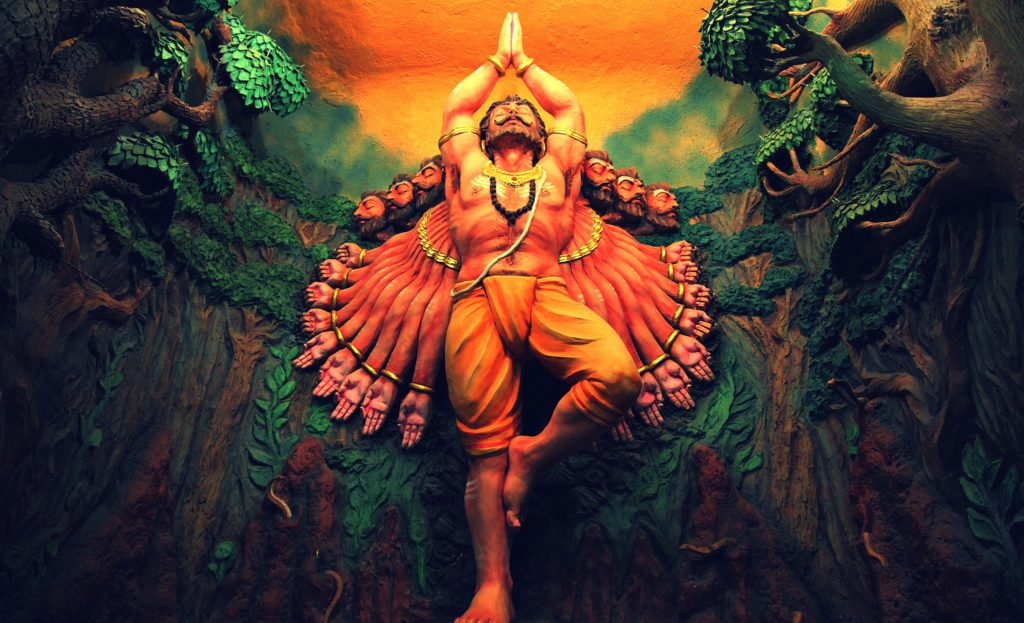 Ravan devotion to Shiva- Maha Shivratri