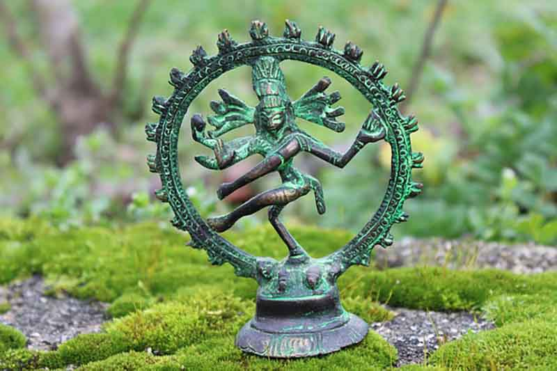 Statue depicting Shiva Natraj form