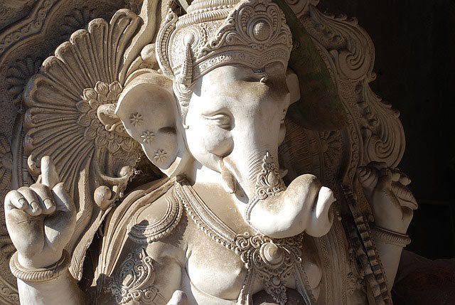 A Statue of Ganesha