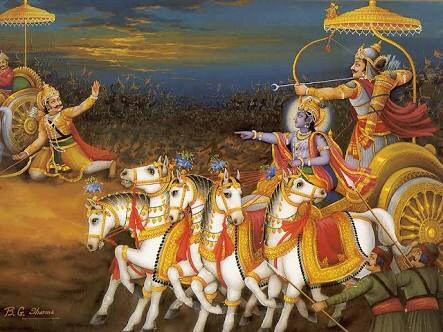 Arjuna could not even defeat thieves