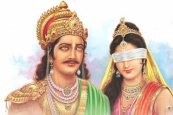Bhim taunted Dhritrashtra and Gandhari after the war