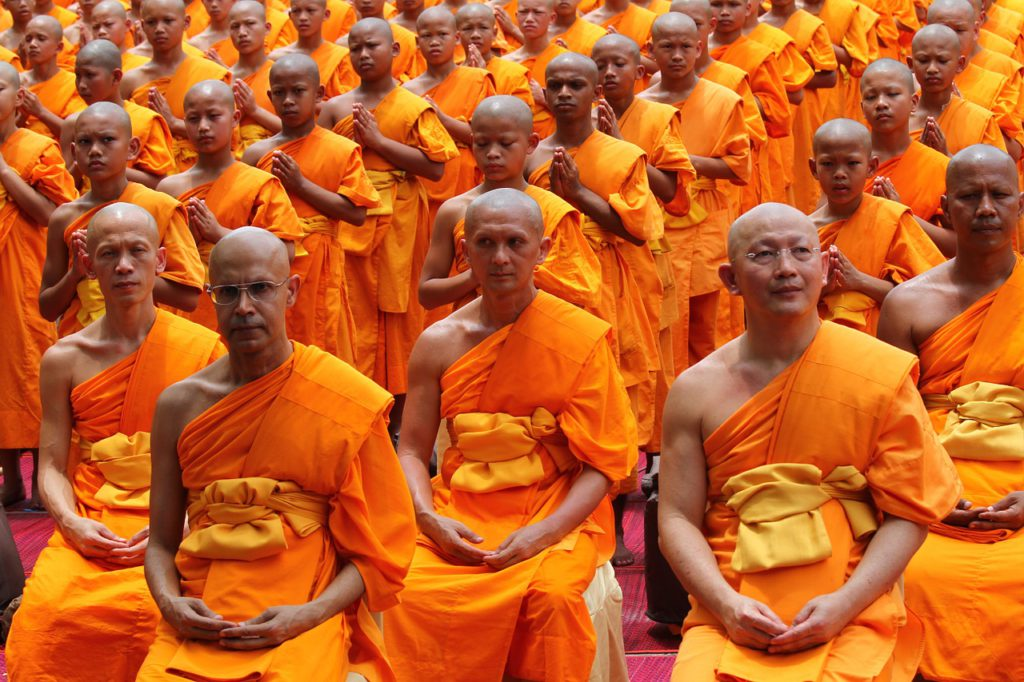 Buddhism was wiped away from India