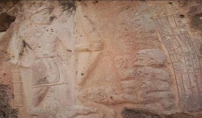 Claims about the painting being of Akkadian Warrior, not Rama