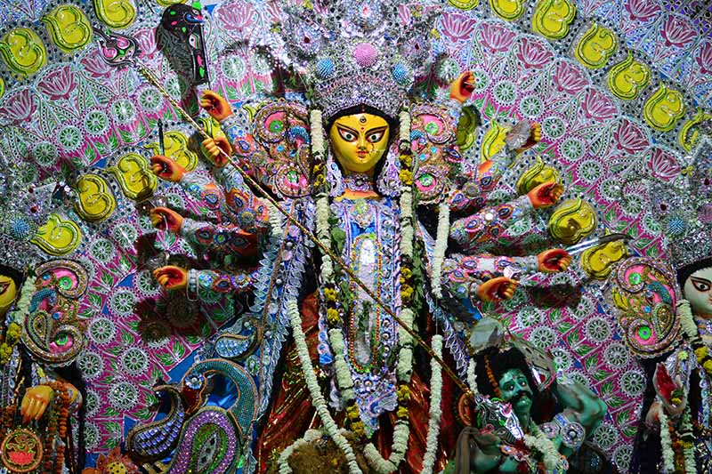 Durga Puja Iconography