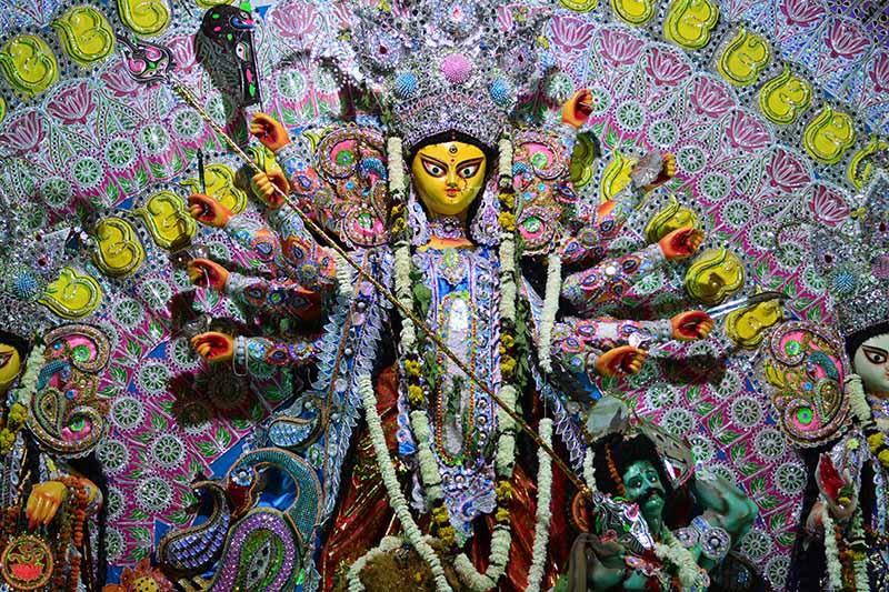 Durga Puja Iconography