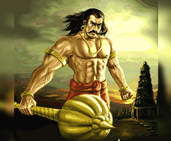 Duryodhana's real name was Suyodhana