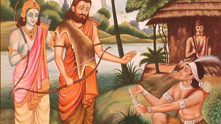 Ekalavya was actually Krishna's cousin