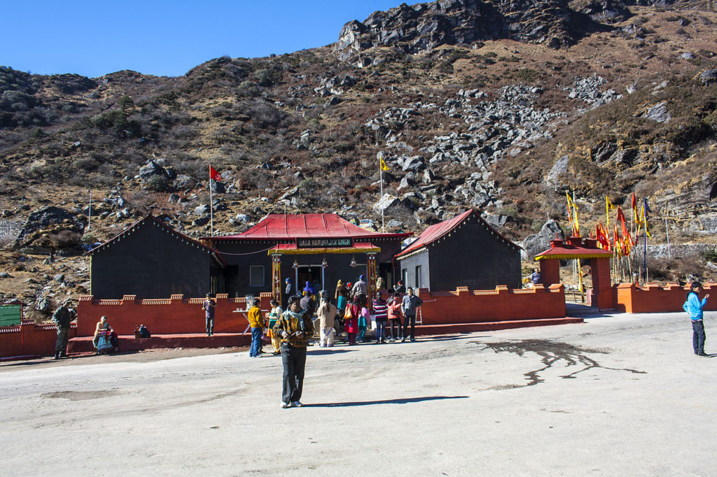 Ghost Soldier On duty in Nathula Pass