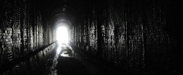 Haunted Delhi cant tunnel