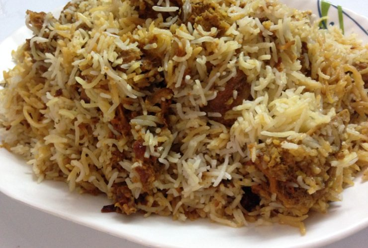 Hyderabadi Biryani-Lamb