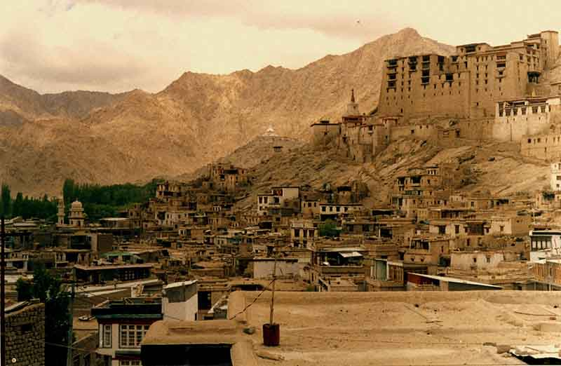 Leh Medieval Streets