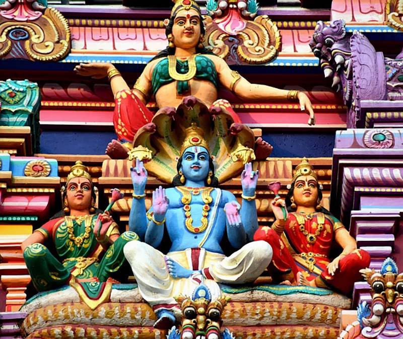Lord Vishnu Depiction in Iconography