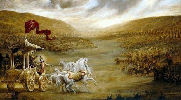 Mahbharata was a world war
