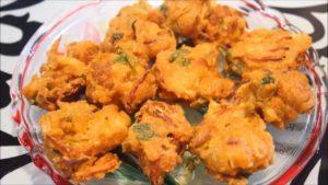 Corn Fritters (Makki Ke Pakode)-Indian Recipe