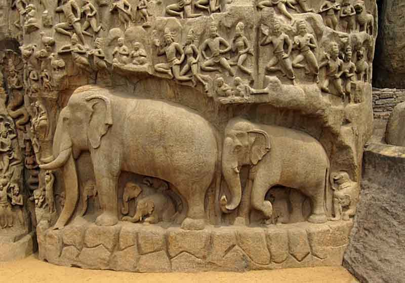 Mamallapuram - Villages to see in India