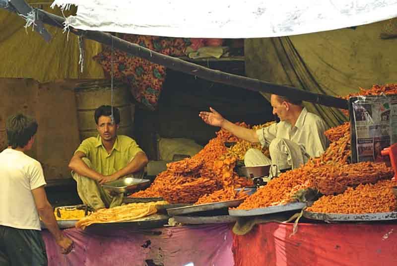 Market in Kashmir