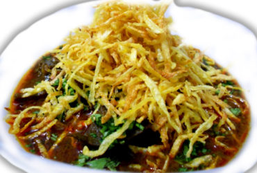 Parsi salli chicken Indian Recipe