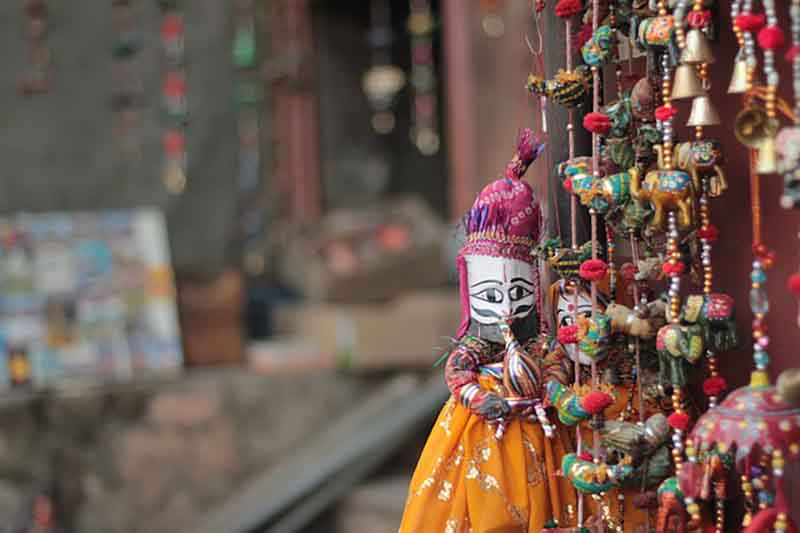 Rajasthani handicrafts-Jaipur-Best shopping destinations in India