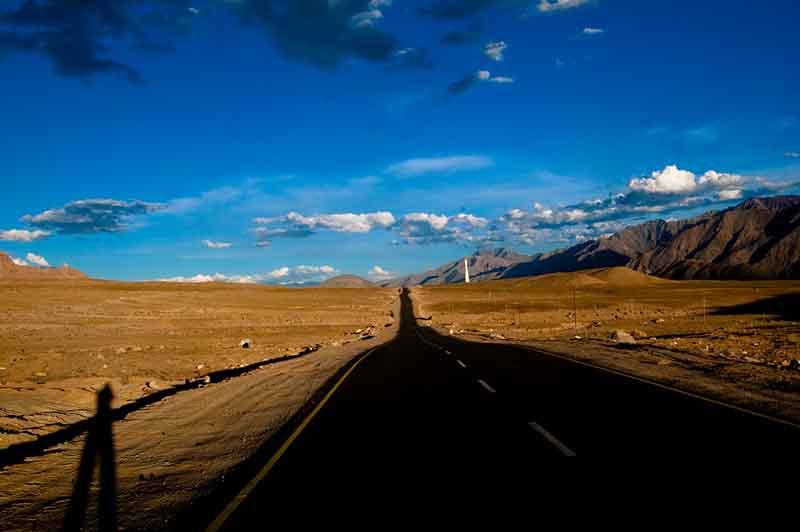 Road Leading to Alchi