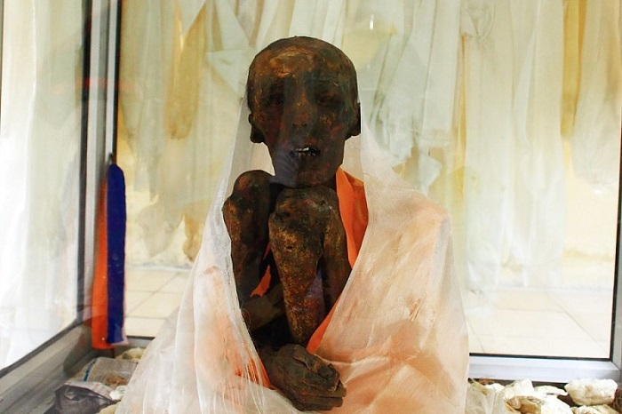 The 500-year old Mummy of Lama Tenzin