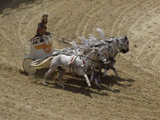 The Powerful Chariot of Krishna