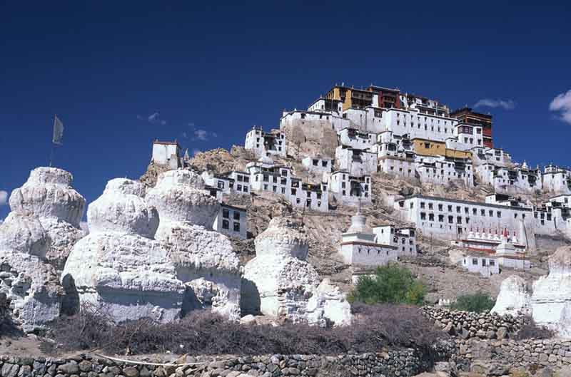 Thikse most architecturally impressive India
