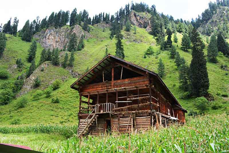 Wooden Home in Kashmir