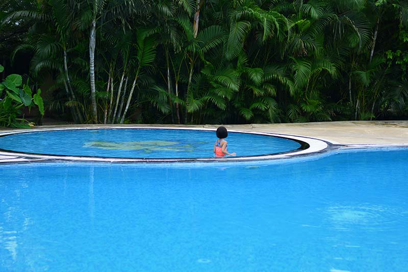 Resort in Jim Corbett National Park have good swimming pools