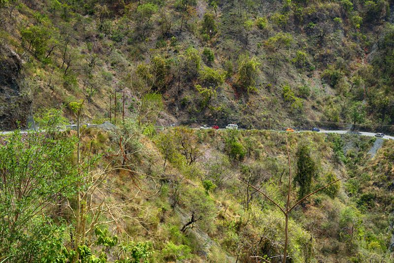 Drive to Kainchi Dham is really great and not too long