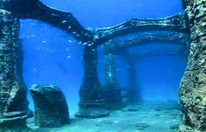 Dwaraka Submerged into the sea