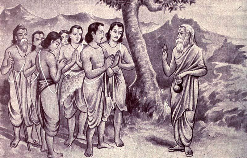 Pandavas Meet Vyasa