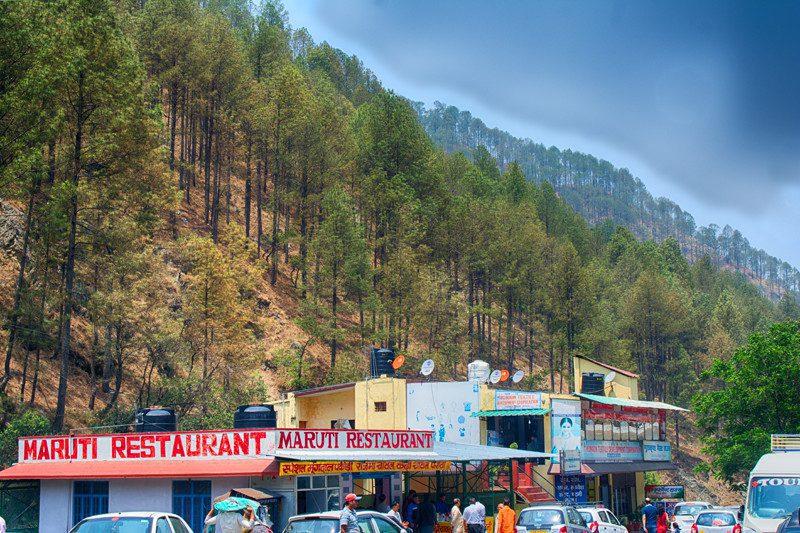 Shops near Kainchi Dham
