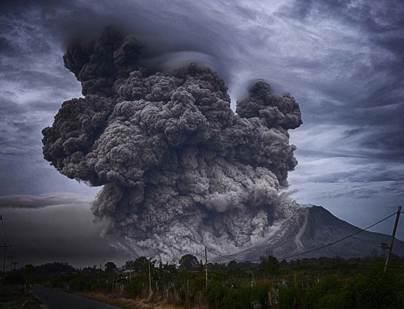 Volcanic Ash Shaping India