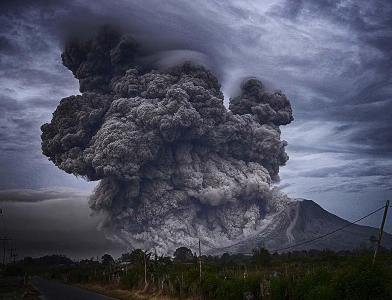 Volcanic Ash Shaping India