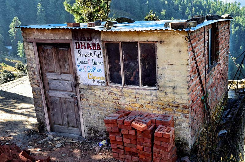 Secluded Dhaba in Shimla