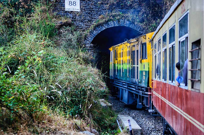 The Toy Train of Shimla