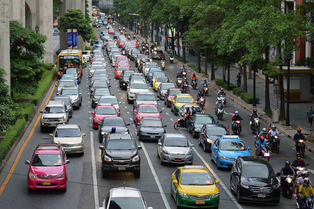 Ancient Traffic Jam