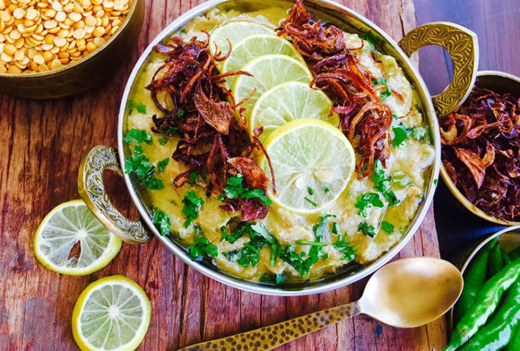 Hyderabad baked herby chicken korma
