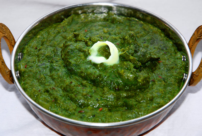 Sarson Ka Saag-Punjabi Mustard Green