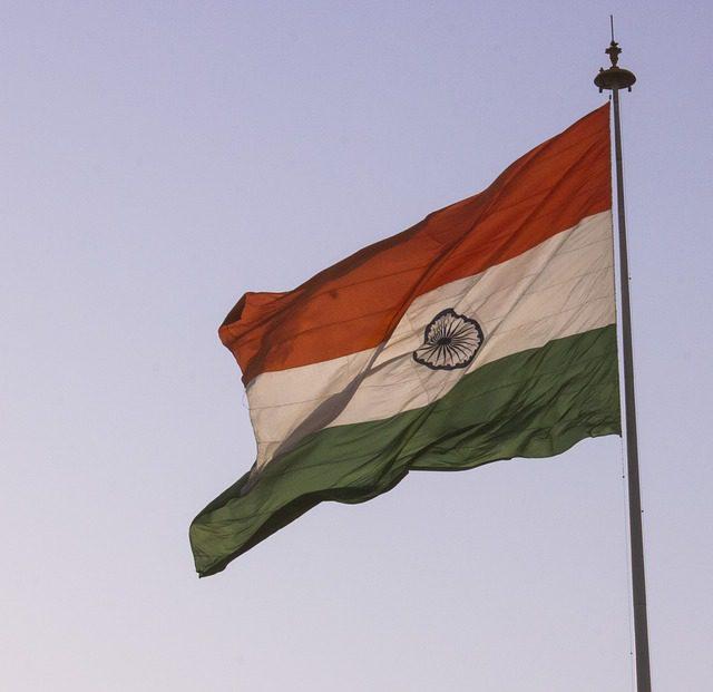 Indian Flag Hoisting